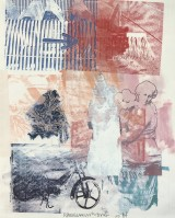 Robert RAUSCHENBERG | Untitled (Arrow) | Lithograph available for sale on www.kunzt.gallery
