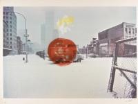Robert WHITMAN | Untitled | Silkscreen available for sale on www.kunzt.gallery
