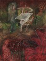 Roberto MATTA   Damné Par L'Arc en Ciel   Etching and Aquatint available for sale on www.kunzt.gallery