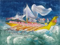 Roberto MATTA | Hommere | Etching and Aquatint available for sale on www.kunzt.gallery