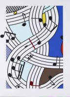 Roy LICHTENSTEIN | Composition I | Screen-print available for sale on www.kunzt.gallery