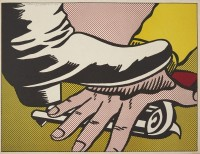 Roy LICHTENSTEIN | Foot and Hand | Lithograph available for sale on www.kunzt.gallery