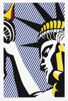 Roy LICHTENSTEIN | I love liberty | Screen-print available for sale on www.kunzt.gallery