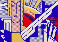 Roy LICHTENSTEIN | Modern Art | Silkscreen available for sale on www.kunzt.gallery