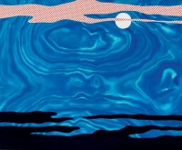 Roy LICHTENSTEIN | Moonscape | Serigraph available for sale on www.kunzt.gallery