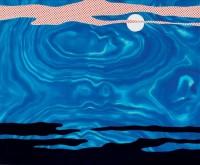 Roy LICHTENSTEIN | Moonscape | Serigraph available for sale on www.kunzt.gallery