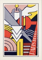 Roy LICHTENSTEIN | Paris Review | Silkscreen available for sale on www.kunzt.gallery