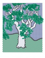 Roy LICHTENSTEIN | Rain Forest | Screen-print available for sale on www.kunzt.gallery