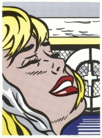 Roy Lichtenstein | Shipboard Girl | Offset Print available for sale on www.kunzt.gallery