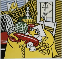 Roy LICHTENSTEIN | Still Life with Lobster | Lithograph available for sale on www.kunzt.gallery