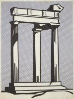 Roy LICHTENSTEIN | Temple | Lithograph available for sale on www.kunzt.gallery