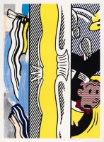 Roy LICHTENSTEIN | Two Paintings: Dagwood | Mixed Media available for sale on www.kunzt.gallery