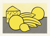 Roy LICHTENSTEIN | Yellow Still Life | Lithograph available for sale on www.kunzt.gallery