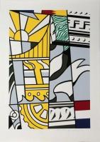 Roy Lichtenstein | Bicentennial | Screen-print available for sale on www.kunzt.gallery