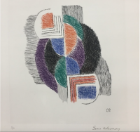 Sonia DELAUNAY | Composition | Etching available for sale on www.kunzt.gallery