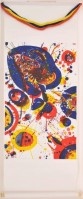Sam FRANCIS | An Other Set - X | Mixed Media available for sale on www.kunzt.gallery