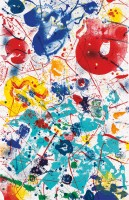 Sam FRANCIS | Untitled (SF-358) | Lithograph available for sale on www.kunzt.gallery