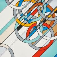 Sarah MORRIS | 1980 [Rings] | Silkscreen available for sale on www.kunzt.gallery