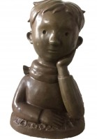 Shen JINGDONG | Little Prince | Bronze available for sale on www.kunzt.gallery