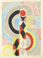 Sonia DELAUNAY | Totem | Lithograph available for sale on www.kunzt.gallery
