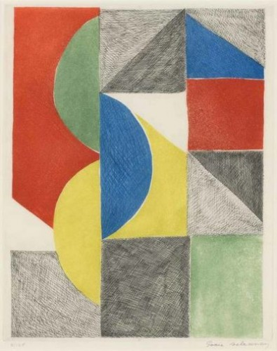 Sonia DELAUNAY | Untitled | Etching and Aquatint available for sale on www.kunzt.gallery