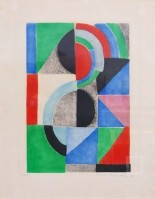 Sonia DELAUNAY | Untitled | Etching available for sale on www.kunzt.gallery
