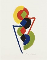 Sonia DELAUNAY | Untitled | Lithograph available for sale on www.kunzt.gallery