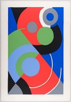 Sonia DELAUNAY | Untitled | Screen-print available for sale on www.kunzt.gallery