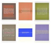 Stefan BRüGGEMANN | Joke & Definition (portfolio of 6) | Lithograph available for sale on www.kunzt.gallery