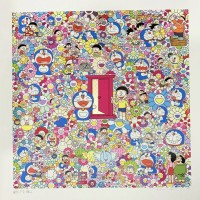 Takashi MURAKAMI | Many Things Await Beyond Anywhere Door (Dokodemo Door) | Silkscreen available for sale on www.kunzt.gallery