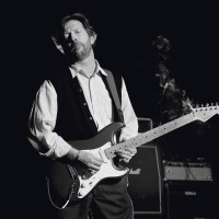 Terry O'NEILL   Eric Clapton, B&W   Photograph available for sale on www.kunzt.gallery