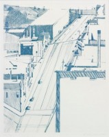 Thiebaud WAYNE | Down 18th | Etching available for sale on www.kunzt.gallery
