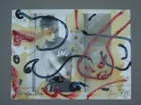 Thomas LANGE | Tatowiert II | Mixed Media available for sale on www.kunzt.gallery