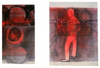 Thomas LANGE   Zeittunnel   Mixed Media available for sale on www.kunzt.gallery