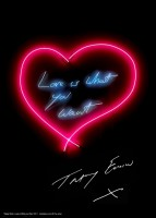 Tracey EMIN | Love Is What You Want | Lithograph available for sale on www.kunzt.gallery