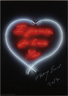 Tracey Emin | I promise to love you | undefined available for sale on www.kunzt.gallery