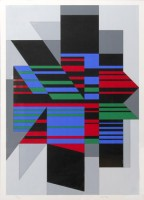 Victor VASARELY | Attila | Screen-print available for sale on www.kunzt.gallery