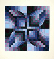 Victor VASARELY | Firka | Silkscreen available for sale on www.kunzt.gallery