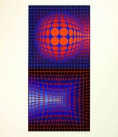 Victor VASARELY | Gordes Vega Pauk | Silkscreen available for sale on www.kunzt.gallery