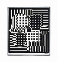 Victor Vasarely | Pleionne | available for sale on www.kunzt.gallery