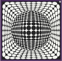 Victor VASARELY | Ter Ur NB | Serigraph available for sale on www.kunzt.gallery