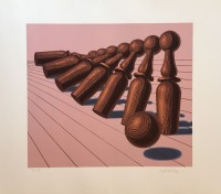 Victor VASARELY | Untitled | Serigraph available for sale on www.kunzt.gallery
