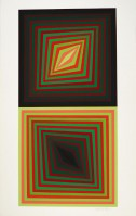 Victor VASARELY | Usteok | Serigraph available for sale on www.kunzt.gallery