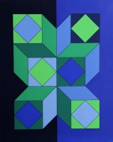 Victor VASARELY | VY-29-C | Serigraph available for sale on www.kunzt.gallery