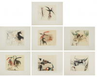 Wifredo Lam | Contre une maison sèche | undefined available for sale on www.kunzt.gallery