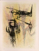 Wifredo LAM | Untitled | Lithograph available for sale on www.kunzt.gallery