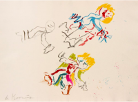 Willem DE KOONING | For Lisa | Lithograph available for sale on www.kunzt.gallery
