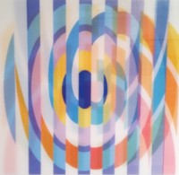 Yaacov AGAM | Geometric 2 Agam | Screen-print available for sale on www.kunzt.gallery
