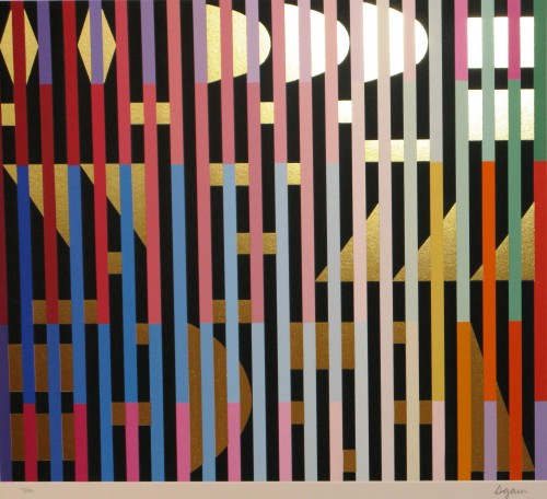 Yaacov Agam | Gold | undefined available for sale on www.kunzt.gallery