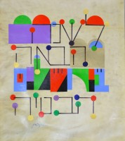 Yaacov AGAM   Next year in Jerusalem   Mixed Media available for sale on www.kunzt.gallery